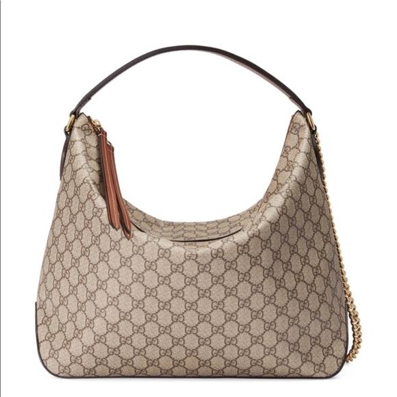8742a1932fd Gucci Handbags - GG Supreme Large Hobo